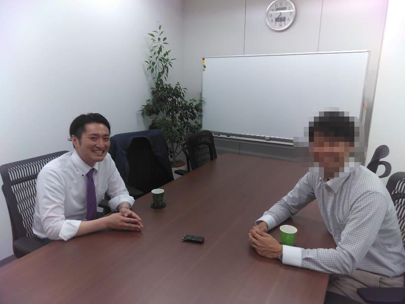 村上俊介さんとの対談時の2ショット